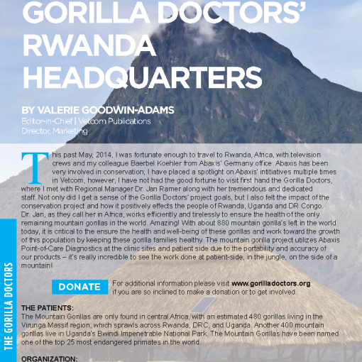 A Site Visit to Gorilla Doctors' Rwanda Headquarters